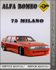Thumbnail Alfa Romeo 75 Milano 3.0 2.5 v6 Service Repair Manual