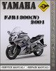 Thumbnail 2001 Yamaha FJR1300(N) Factory Service Repair Manual