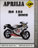 Thumbnail 2002 Aprilia RS125 Factory Service Repair Manual