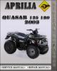 Thumbnail 2003 Aprilia Quasar 125 180 Factory Service Repair Manual