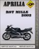 Thumbnail 2002 Aprilia RST Mille Factory Service Repair Manual