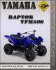 Thumbnail Yamaha Raptor YFM50S Factory Service Repair Manual