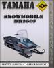 Thumbnail 1981 Yamaha Snowmobile BR250F Factory Service Repair Manual