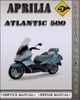 Thumbnail Aprilia Atlantic 500 Factory Service Repair Manual