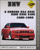 Thumbnail 1989-1995 BMW 5 series E34 525i 530i 535i 540i Factory Service Repair Manual 1990 1991 1992 1993 1994