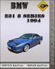 Thumbnail 1994 BMW E31 8 Series Factory Service Repair Manual