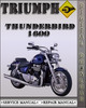 Thumbnail 2009-2012 Triumph Thunderbird 1600 Factory Service Repair Manual 2010 2011