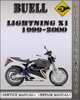 Thumbnail 1999-2000 Buell Lightning X1 Factory Service Repair Manual