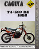 Thumbnail 1988 Cagiva T4-500 RE Factory Service Repair Manual