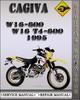 Thumbnail 1995 Cagiva W16-600 W16 T4-600 Factory Service Repair Manual