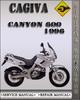Thumbnail 1996 Cagiva Canyon 600 Factory Service Repair Manual