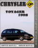 Thumbnail 1998 Chrysler Voyager Factory Service Repair Manual