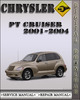 Thumbnail 2001-2004 Chrysler PT Cruiser Factory Service Repair Manual 2002 2003