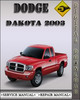 Thumbnail 2003 Dodge Dakota Factory Service Repair Manual
