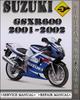 Thumbnail 2001-2002 Suzuki GSXR600 Factory Service Repair Manual