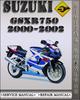 Thumbnail 2000-2002 Suzuki GSXR750 Factory Service Repair Manual 2001