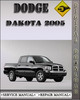 Thumbnail 2005 Dodge Dakota Factory Service Repair Manual