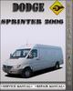 Thumbnail 2006 Dodge Sprinter Factory Service Repair Manual