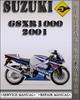 Thumbnail 2001 Suzuki GSXR1000 Factory Service Repair Manual