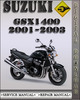 Thumbnail 2001-2003 Suzuki GSX1400 Factory Service Repair Manual 2002