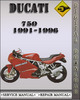 Thumbnail 1991-1996 Ducati 750 Factory Service Repair Manual 1992 1993 1994 1995