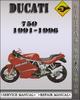 Thumbnail 1991-1996 Ducati 750 Factory Service Repair Manual 1992 1993 1994 1995