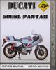 Thumbnail 1979 Ducati 500SL Pantah Factory Service Repair Manual