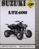 Thumbnail 2003 Suzuki LTZ400 Factory Service Repair Manual