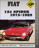 Thumbnail 1975-1982 Fiat 124 Spider Factory Service Repair Manual 1976 1977 1978 1979 1980 1981