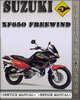 Thumbnail 1996-2001 Suzuki XF650 Freewind Factory Service Repair Manual 1997 1998 1999 2000