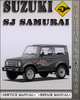 Thumbnail 1988 Suzuki SJ Samurai Factory Service Repair Manual