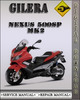 Thumbnail 2005-2007 Gilera Nexus 500SP Mk2 Factory Service Repair Manual 2006
