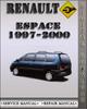 Thumbnail 1997-2000 Renault Espace Factory Service Repair Manual 1998 1999