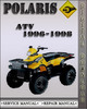 Thumbnail 1996-1998 Polaris ATV Factory Service Repair Manual 1997
