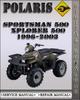 Thumbnail 1996-2003 Polaris Sportsman Xplorer 500 Factory Service Repair Manual 1997 1998 1999 2000 2001 2002