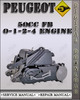 Thumbnail Peugeot 50cc FB 0-1-2-4 Engine Factory Service Repair Manual