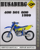 Thumbnail 1999 Husaberg 400 501 600 Factory Service Repair Manual