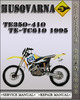 Thumbnail 1995 Husqvarna TE350-410 TE-TC610 Factory Service Repair Manual