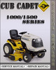 Thumbnail Cub Cadet 1000 1500 series Riding Tractor Factory Service Repair Manual