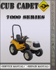 Thumbnail Cub Cadet 7000 Series Domestic Compact Tractor Factory Service Repair Manual