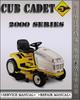 Thumbnail Cub Cadet 2000 Series Factory Service Repair Manual