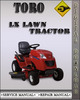 Thumbnail Toro LX Lawn Tractor Factory Service Repair Manual