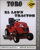 Thumbnail Toro XL Lawn Tractor Factory Service Repair Manual
