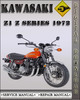 Thumbnail 1972 Kawasaki Z1 Z Series Factory Service Repair Manual