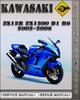 Thumbnail 2002-2006 Kawasaki ZX12R ZX1200 B1 B6 Factory Service Repair Manual 2003 2004 2005