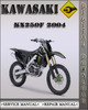 Thumbnail 2004 Kawasaki KX250F Factory Service Repair Manual