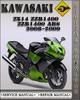 Thumbnail 2008-2009 Kawasaki Ninja ZX14 ZZR1400 ZZR1400 ABS Factory Service Repair Manual