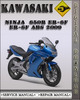 Thumbnail 2009 Kawasaki Ninja 650R ER-6f ER-6f ABS Factory Service Repair Manual