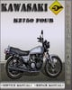 Thumbnail 1980-1988 Kawasaki KZ750 Four Factory Service Repair Manual 1981 1982 1983 1984 1985 1986 1987