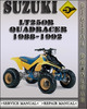 Thumbnail 1988-1992 Suzuki LT250R Quadracer Factory Service Repair Manual 1989 1990 1991